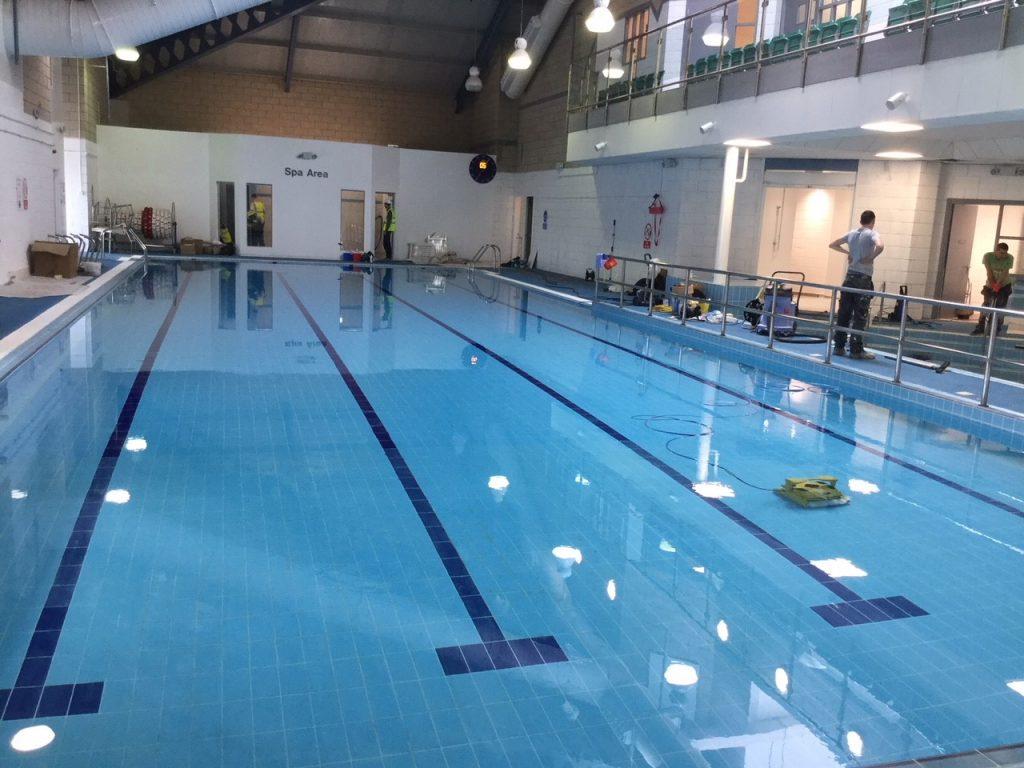 Loanhead Leisure Centre Re Tile By Flowman Flowman Leisure
